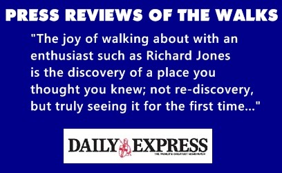 The Daily Express opinion of Richard walks.