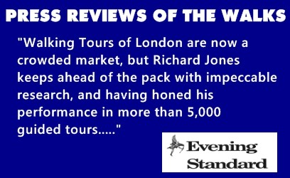 A review of Richard's walks in the London Evening Standard.
