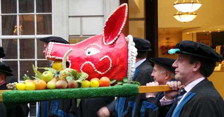 The Boar S Head Ceremony Butchers Company City Of London