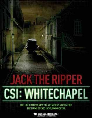 The front cover of the book CSI Whitechapel.