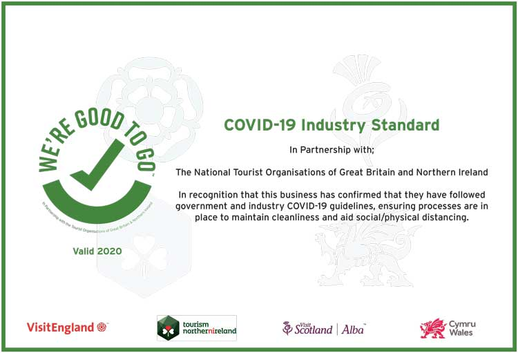 The Good To Go Certificate.