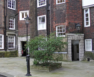 The old square in Lincoln's Inn.