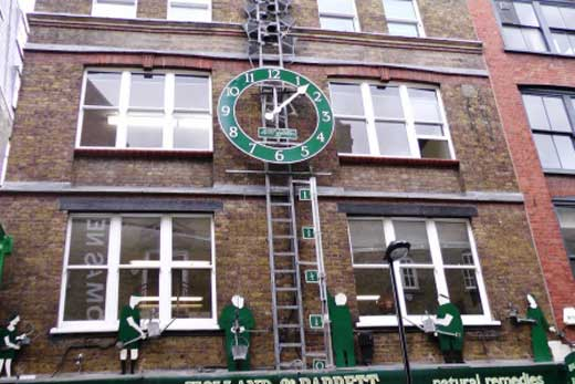 The Neals Yard Waterclock