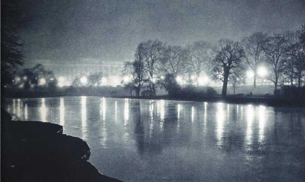 The haunted lake in St James's Park.