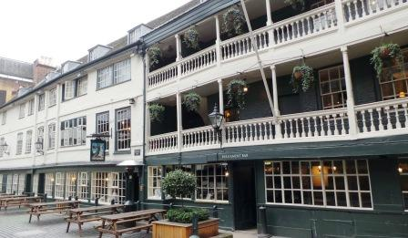 The George Inn London's only surviving galleried coaching inn.