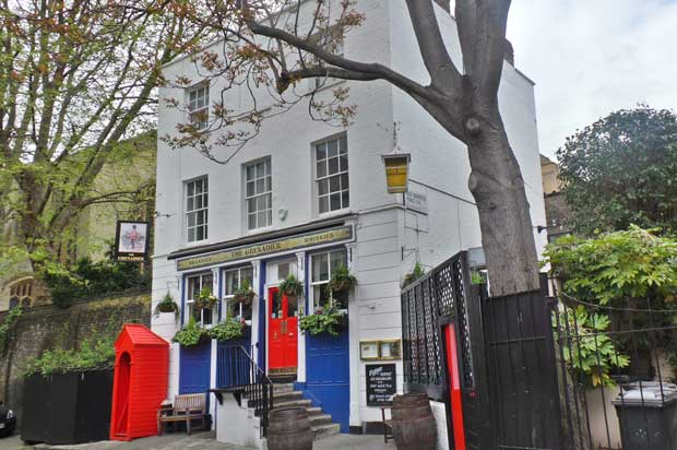 The Grenadier Pub in Belgravia.