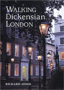 The front cover of Walking Dickensian London.