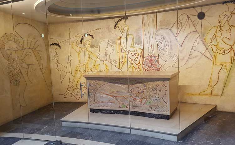 The Jean Cocteau Murals.