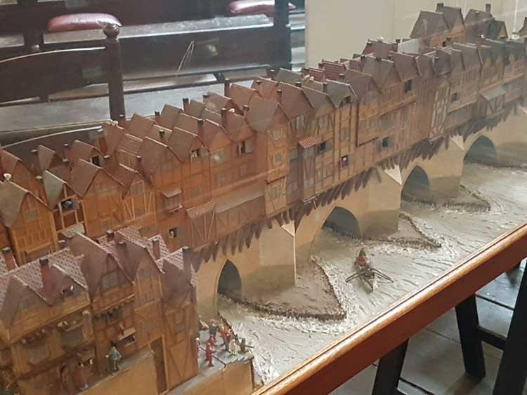 The model of old london bridge st magnus the martyr for Design agency london bridge